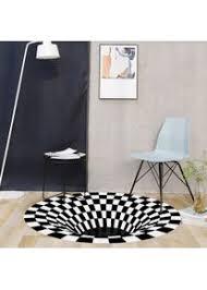3d geometrische optische täuschung rutschfester teppich