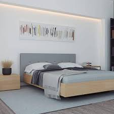 float nachttisch mit 1 schublade klein diese möbel wird die selbst in den kleinsten wohnungen passen 45 x 43 x 31 cm weiß matt mit