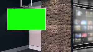 This Is A Virtual Studio Or Set Background Which Can Be Used In Green Screen