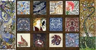 tile arts crafts tiles william morris
