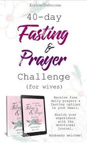40 Day Fasting Prayer Challenge For Wives