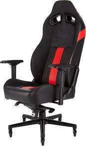 CORSAIR T2 ROAD WARRIOR Gaming Chair — Black/Red Killabee 8212 Black Gaming Chair Furmax High Back Office Racing Ergonomic Swivel Computer Executive Leather Desk With Footrest Bucket Seat And Lumbar Corsair Cf9010007 T2 Road Warrior White Chair Corsair Warriorblack By Order The 10 Best Chairs Of 2019 Road Warrior Blackwhite Blackred X Comfort Air Red Gaming Star Trek Edition Hero