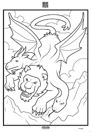 Color Alive Mythical Creatures Dragon Coloring Page Crayola In
