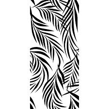 Coloriage Feuille De Palmier