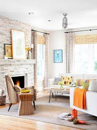 fireplace awesome stone fireplace design for cozy living room