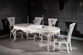casa padrino luxus barock esszimmer stuhl set lila beige weiß gold 57 x 65 x h 113 cm küchen stühle 6er set prunkvolle barock esszimmer