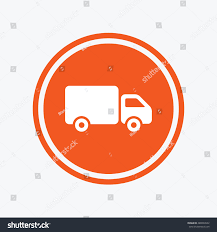 100 Truck Sign Delivery Icon Cargo Van Stock Vector Royalty Free