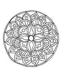 Henna Coloring Pages Pin Free Printable Mandala New Online