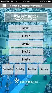Usag Level 3 Floor Routine 2014 by Usa Gymnastics Women U0027s Compulsory Program App Ranking And Store