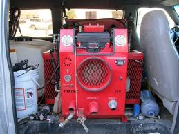 Truck Mount Carpet Extractor by Used Truck Mount And Van Complete Start Up Hornet 24hp Honda