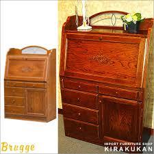 oak writing bureau furniture kirakukan rakuten global market style furniture