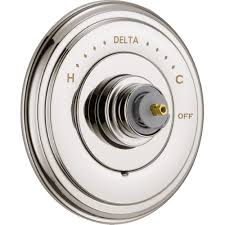 Delta Faucets Cassidy Line by Delta Faucet T14097 Pnlhp Cassidy Polished Nickel One Handle Valve