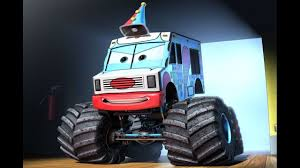 Cars Toons: Mater's Tall Tales - Monster Truck Mater Part 1 - Ice ...