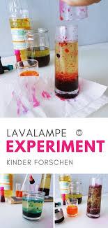 lavale selber machen wasser öl experiment für kinder