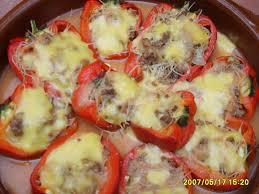 cuisiner les poivrons rouges poivrons farcis casa de miam miam