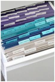 Hon File Cabinet Rails by Best 25 File Cabinet Organization Ideas On Pinterest File