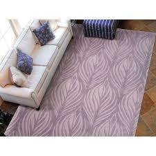 Nourison Hand Tufted Contours Lavender Rug 73 X 93