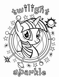 My Little Pony Coloring Page Fresh Awesome Pages Twilight Sparkle And Friends