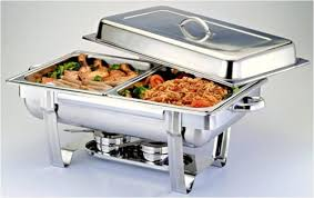 Chafing Dish Double Golden Chef
