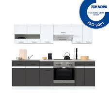 einbauküche mit elektrogeräten spülbecken küche küchenzeile