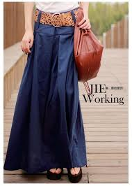 long skirt 2016 summer u0026 autumn saia solid linen skirt maxi skirts