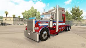 100 American Trucking 806 Skin For The Truck Peterbilt 389 For Truck