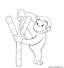 Kids Curious George Sad25 Coloring Pages Print Download 271 Prints