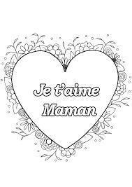 Coloriage Pour Maman Imprimer Dire Je T Aime S 7931