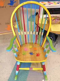 Hand Painted Rocking Chair - Love The Childs Handprints On ... Rocking Nursery Chair Hand Painted In Soft Blue Childrens Chairs Babywoerlandcom 20th Century Swedish Dalarna Folk Art Scdinavian Antique Seat Replacement And Finish Teamson Kids Boys Transportation Personalized White Wood Childs Rocker Kid Sports Custom Theme Girl Boy Designs Brookerpalmtrees Wooden Beach Natural Lumber Hot Sell 2016 New Products Office Buy Ideas Emily A Hopefull Rocking Chair Rebecca Waringcrane