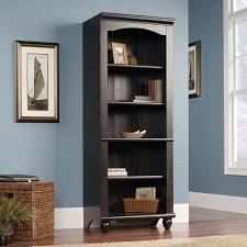 Sauder Harbor View Dresser Salt Oak by Harbor View Sauder Open Library Bookcase Rc Willey Furniture Store