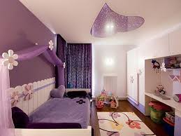Bedroom Kids Bed Ideas Purple And Gray Decor