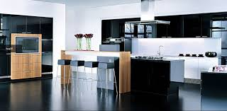 White Black Kitchen Design Ideas by Awesome Modern Kitchen Design Ideas With Kitchen Island Ideas And