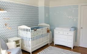 papier peint pour chambre bébé chambre bébé bien choisir les couleurs motif hexagonal idée