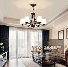 maniny 6 kopf wohnzimmer kronleuchter europäische landhaus stil schlafzimmer deckenleuchte natürliche idylle einfache restaurant hängele moderne