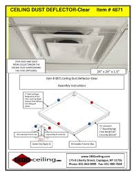 Ceiling Ac Vent Deflectors by 1800ceiling Com Bellmore New York Ny 11710