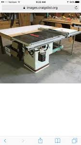 Used Grizzly Cabinet Saw by Powermatic Table Saw On Craigslist By Jtp79 Lumberjocks Com
