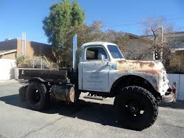 1949 Dodge Truck Cummins Diesel Power 4x4 Rat Rod Tow Truck NO RESERVE