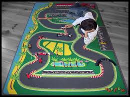 tapis de jeux voitures tapis enfant circuit 1195 tapitom tapis de jeu circuit de voiture