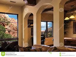 100 Modern Italian Villa Arizona Mountainside Home Interior Stock Photo Image