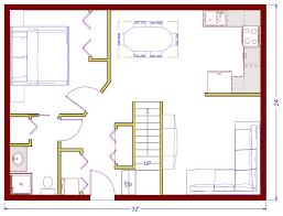 Beautifully Idea 14 24x24 House Plans With Loft Cabin Floor