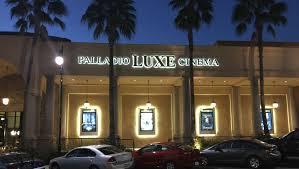 Cinema West Palladio LUXE Cinema