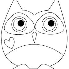 HolidaySimple Images Of Valentines Day Coloring Pages Owl Page Print And