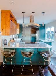 Colorful Kitchen Cabinets Not A White