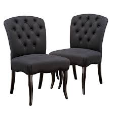 Mckenzie Black Scroll Fabric Dining Chairs (Set Of 2) - Walmart.com Ding Chair Black Leather Kitchen Chairs Buy Fabric White And Room Sets Amazoncom Set Of 2 Modern Upholstered Naples Grey Vintage Pack Two Modish Synnes Black Rouse Home Ashford X Canterbury Lvet Fabric Ding Room Chairs Scroll Top High Back Reed Farmhouse Bri Metal Frame With Arms Colt Low Back Armchair O G Studio 4 Matching Satina With Stud Detail 82 Off Macys Patterned