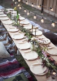 Vintage Botanical Dinner Party Idea