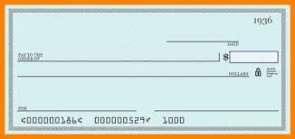 7 blank check templates for excel