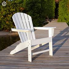 Folding Beach Chairs At Bjs by Polywood South Beach Adirondack Chair