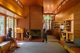 100 Frank Lloyd Wright Houses Interiors S Beautifully Crafted PopeLeighey House