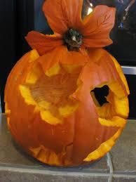 Drilled Pumpkin Designs by First Time Carving A Pumpkin Halloween Maple Leaf Pumpkin