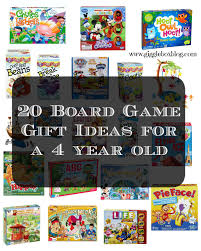 List Of 20 Board Game Ideas For A 4 Year Olds Christmas Gift Or Birthday